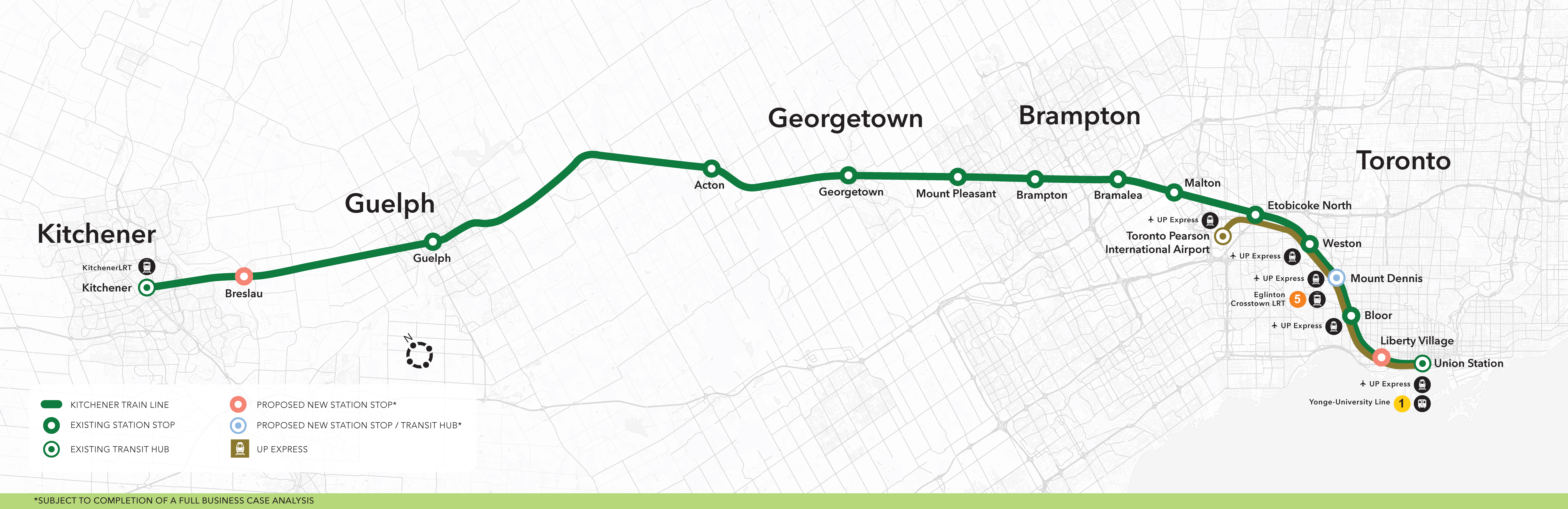 Metrolinx: For a Greater Region - Kitchener GO Expansion